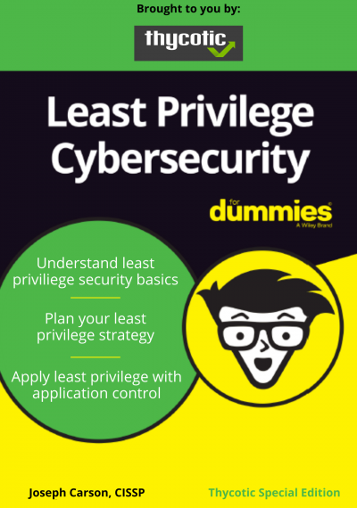 Understand least priviliege security basics